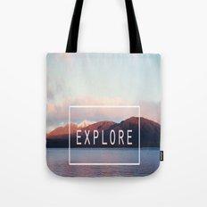 Explore. New Zealand Tote Bag