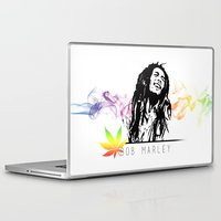 marley Laptop & iPad Skins featuring Marley Stencil Work by L & T Designs
