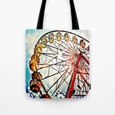 Carnival Ferris Wheel Tote Bag