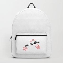 Oide Wurschthaut   [black] Backpack