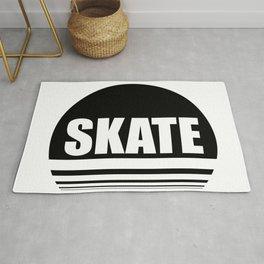 Skate the circle Rug