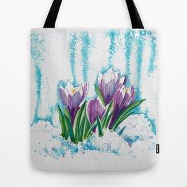 Crocus Tote Bag