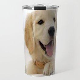 Love Dogs Dog Groomer Paw Print Grooming Cute Travel Mug