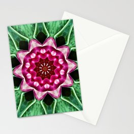 Water Lily Manipulation Stationery Cards