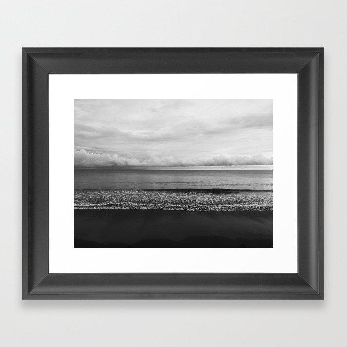 black sand Gerahmter Kunstdruck