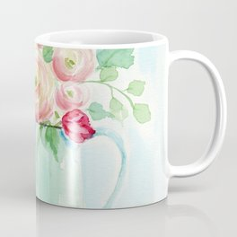 Tulips and French Enamelware Coffee Mug