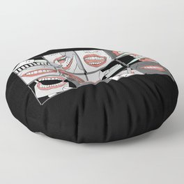 Dentistry horizontal Floor Pillow