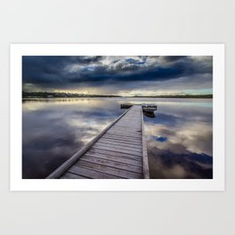 Turner Jetty, Augusta Art Print