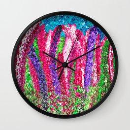 Nova Scotia Lupins (lupines) Wall Clock
