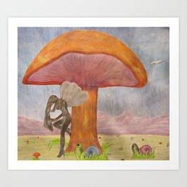 Caught Ogling a Fairy Art Print