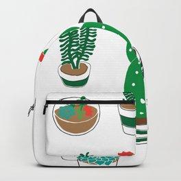 Illustrated Cactii Backpack
