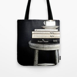 Books&Stool Tote Bag