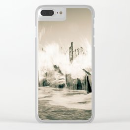 The Cruel Sea Clear iPhone Case