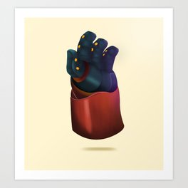 Big Hero 6  Art Print