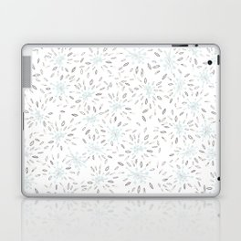 Blue Cherry Blossom Laptop & iPad Skin