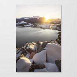 Kiss of Warmth Canvas Print