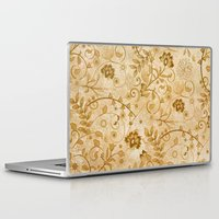 floral pattern Laptop & iPad Skins featuring Floral pattern by nicky2342