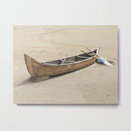 Wooden Boat Metal Print