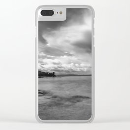 Clouds over St Andrews Clear iPhone Case