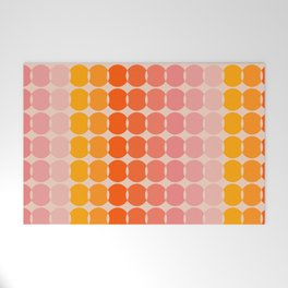 Strawberry Dots Welcome Mat
