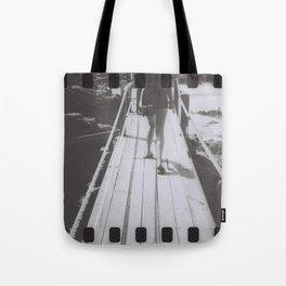 the unhurried walker Tote Bag