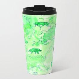 Watercolor Tardigrade Illustration Metal Travel Mug