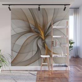 Elegant Chaos, Abstract Fractal Art Wall Mural