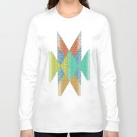 diamonds Long Sleeve T-shirts featuring Diamonds by elikourY