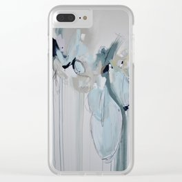 Not Telling Clear iPhone Case