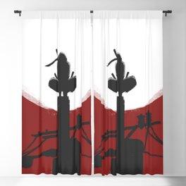 RedMoon Silhouette Blackout Curtain