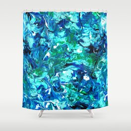 Sea Of Green Shower Curtain