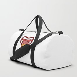 Pencil Mouth Duffle Bag