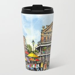 Chartres Street, New Orleans Travel Mug