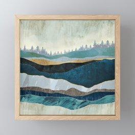 Turquoise Hills Framed Mini Art Print