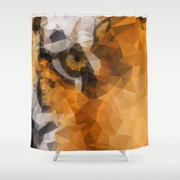 Burning Bright! Shower Curtain