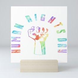 Human Rights Day Gay Lesbian Homo CSD Gift Mini Art Print