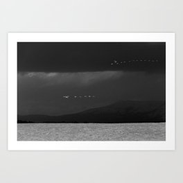 Storm Chasers Art Print