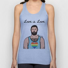 Bear Boy: Pride 1 Unisex Tank Top