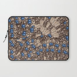 Peacock Feather Prints Laptop Sleeve