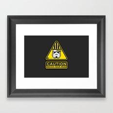 Empire Safety Program - Star Wars Framed Art Print