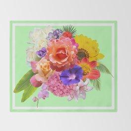Florals Throw Blanket