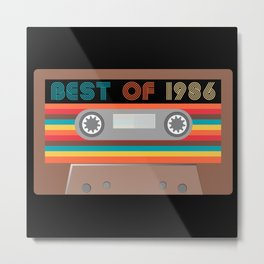 Best of  1986 Metal Print