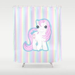 g1 my little pony baby Sundance Shower Curtain