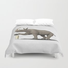 Cork it, Dürer! [HD] (Wordless) Duvet Cover