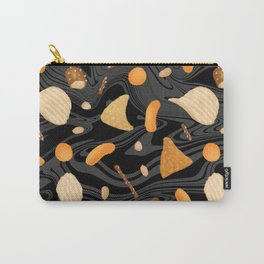 Snack Food Marble Carry-All Pouch