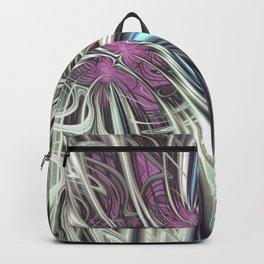 Cosmic Orchid - Fractal Art Backpack