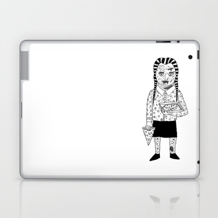 WEDNESDAY ADDAMS Laptop & iPad Skin