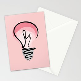 Pink Idea Stationery Cards