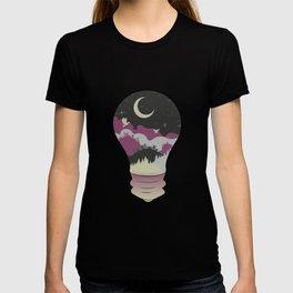 City in a Lightbulb T-shirt