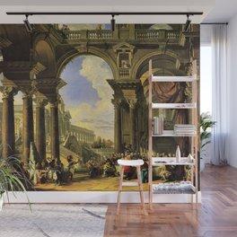 Giovanni Paolo Panini's Masterpiece: The Wedding at Cana, circa 1725 Wall Mural